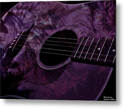 Music Of The Roses Metal Print by Barbara St Jean