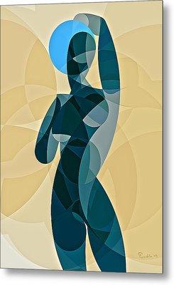 Music Of The Spheres #11 Metal Print by Peyablo