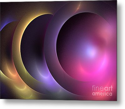 Music Of The Spheres Metal Print by Kim Sy Ok