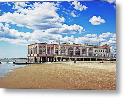 Music Pier Metal Print by Tom Gari Gallery-Three-Photography