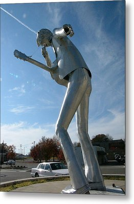 Music-sculpture-2 Metal Print