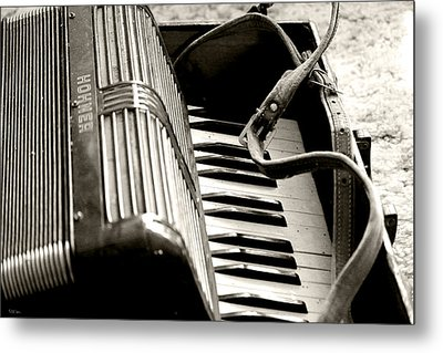 Music Time Metal Print by Rebecca Davis