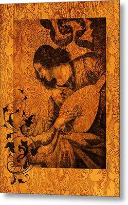 Musical Angel Metal Print