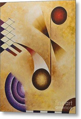 Musical Journey Iv Metal Print by Teri Brown