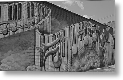Musical Mural Metal Print by Linda Dyer Kennedy