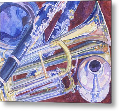 Musical Reflections Metal Print by Jenny Armitage