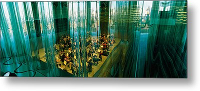 Musicians At A Concert Hall, Casa Da Metal Print by Panoramic Images