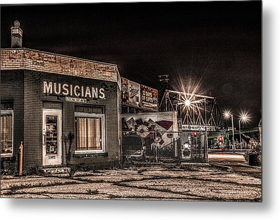 Musicians Union Metal Print by Ray Congrove