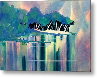 Musky Point Metal Print by William Duncan