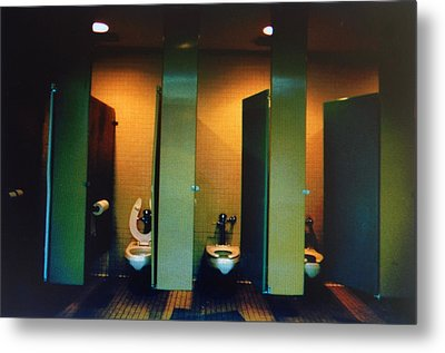 Must Be The Mens Room Metal Print
