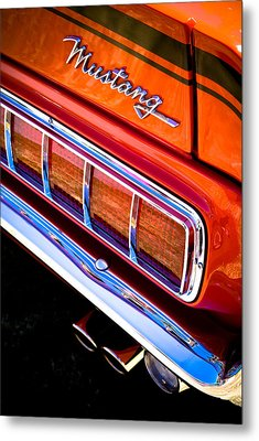Mustang Mach 1 Metal Print by Phil 'motography' Clark