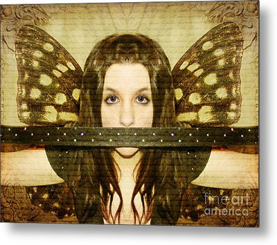 Metal Print featuring the photograph Mute Witness by Heather King