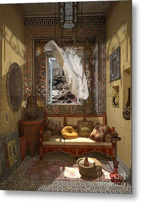 My Art In The Interior Decoration - Morocco - Elena Yakubovich Metal Print by Elena Yakubovich