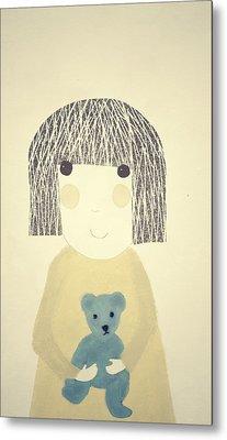 My Bear And Me Metal Print by Katy McFall