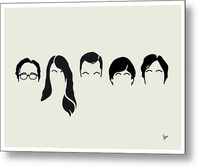 My-big-bang-hair-theory Metal Print by Chungkong Art