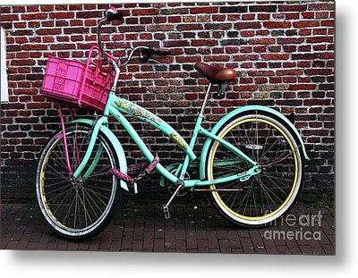 My Bike Metal Print by John Rizzuto