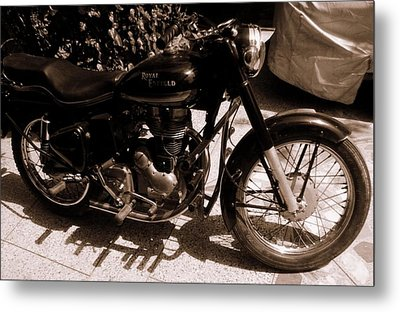 Royal Enfield Bullet 350 Metal Print
