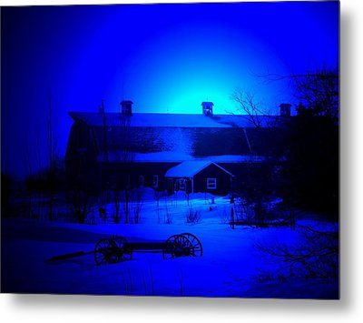My Blue Haven Metal Print by Larry Trupp