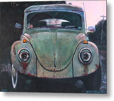 My Bug Metal Print
