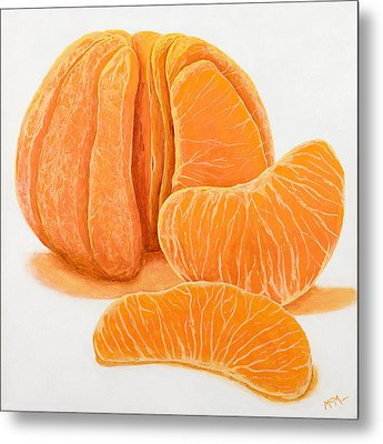 My Clementine Metal Print by Garry McMichael