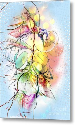 My Colors By Nico Bielow Metal Print by Nico Bielow