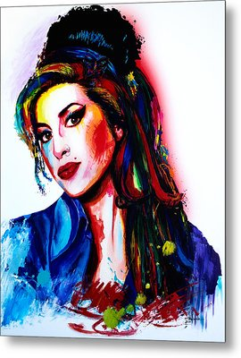 My Colors For Amy Metal Print by Isabel Salvador