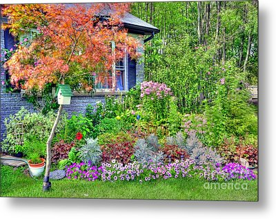 My Corner Of The World Metal Print by Kathleen Struckle