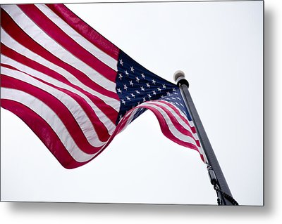 Metal Print featuring the photograph My Country 'tis Of Thee by Courtney Webster