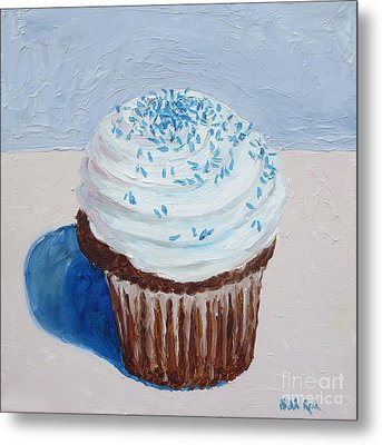 My Cup Cake Metal Print by William Reed