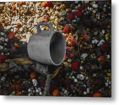 My Cup Falleth Over Metal Print