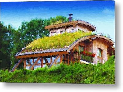 My Dream House Metal Print by Gabriel Mackievicz Telles
