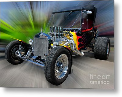 My Dream Ride Metal Print by JohnD Smith