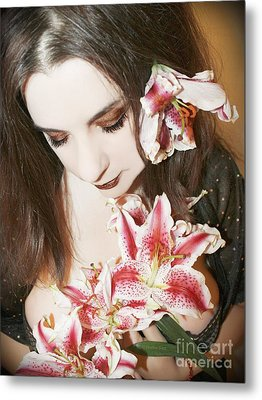 Metal Print featuring the photograph My Dreams In Bloom by Heather King
