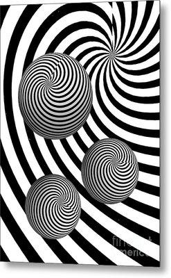 My Eyes Hurt Metal Print by Steve Purnell