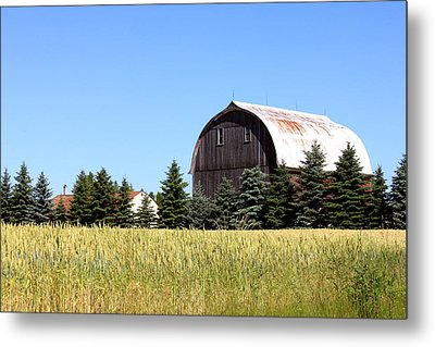 My Favorite Barn Metal Print by Sheryl Burns