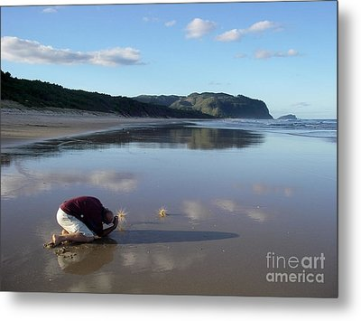 Metal Print featuring the photograph My Friend Photographer by Jola Martysz