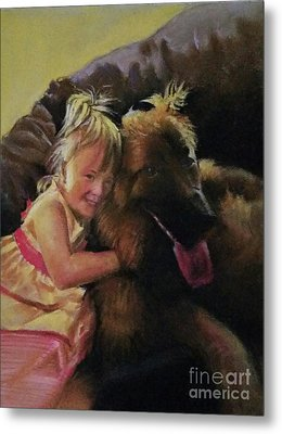 My Friend Metal Print by Rose Wang