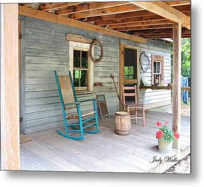 My Front Porch Metal Print