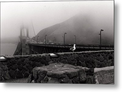 Metal Print featuring the photograph My Golden Gate...... by Tanya Tanski
