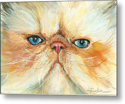 My Happy Face Metal Print by Donna Tucker
