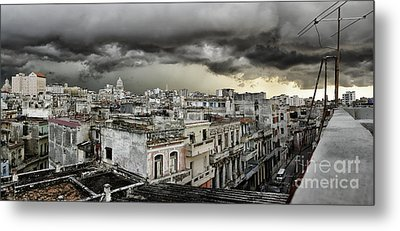My Havana Roof Metal Print