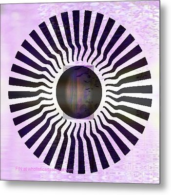 My Head Spins Metal Print by PainterArtist FIN