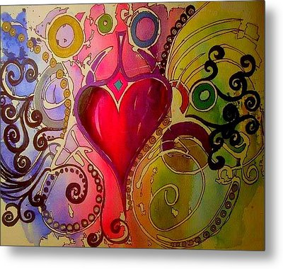 My Heart Metal Print