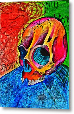 My Hell  Metal Print by Ryno Worm  Tattoos