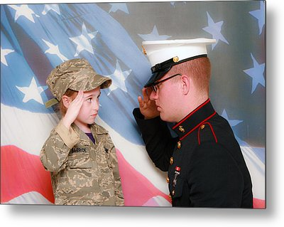 My Hero Metal Print