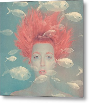 My Imaginary Fishes Metal Print by Anka Zhuravleva