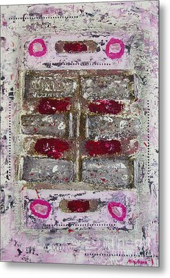 My Jewel Metal Print by Mini Arora