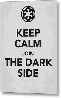 My Keep Calm Star Wars - Galactic Empire-poster Metal Print by Chungkong Art