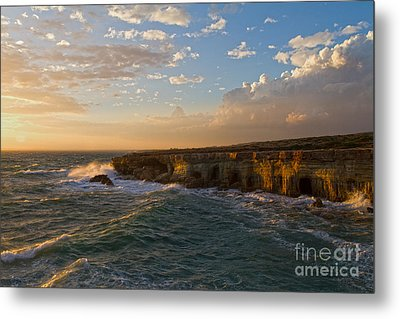 My Land Is The Sea Metal Print by Stelios Kleanthous