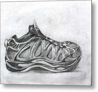 My Left Foot Metal Print by Pat Purdy